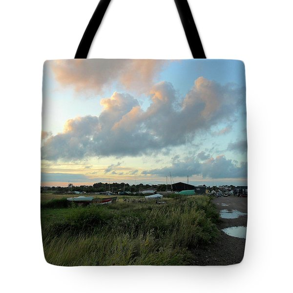 Tote Bag featuring the photograph After The Rain by Anne Kotan