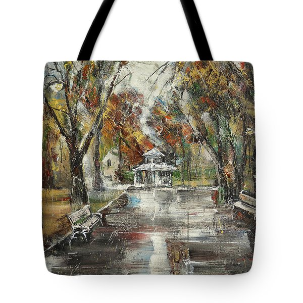 After The Rain IIi Tote Bag