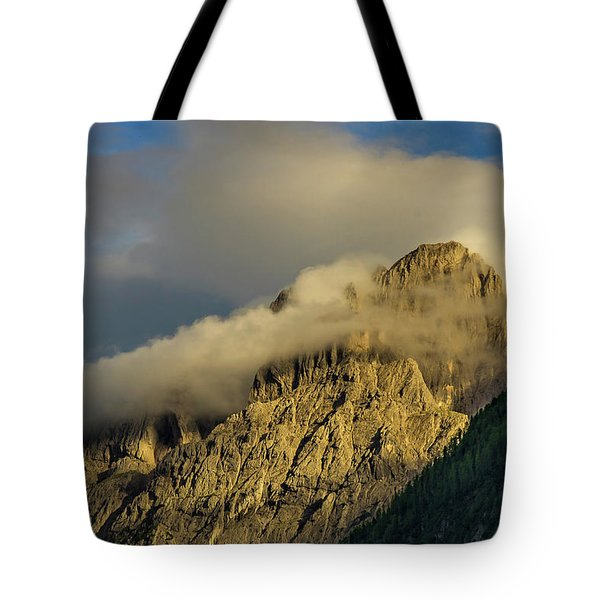 After The Rain In The Austrian Alps. Tote Bag by Ulrich Burkhalter