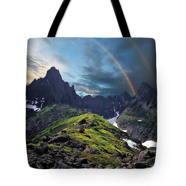 After The Rain Storm Tote Bag