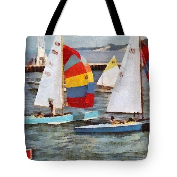 After The Regatta  Tote Bag