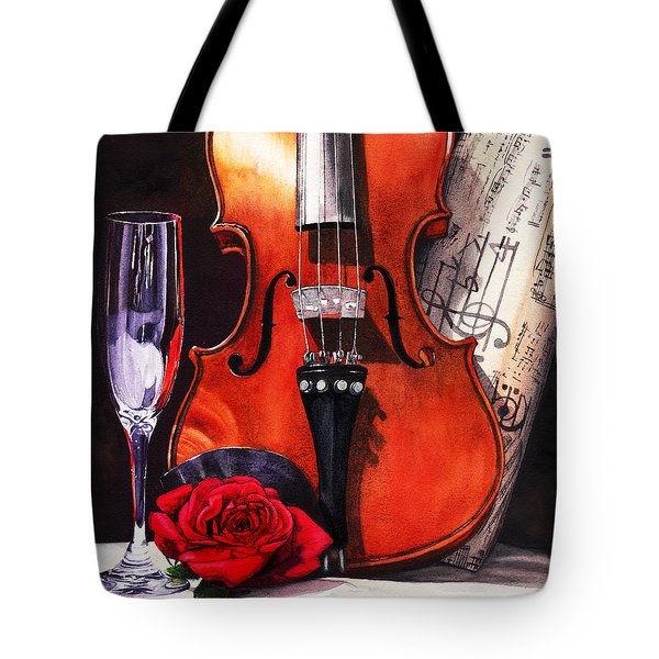 After The Serenade Tote Bag