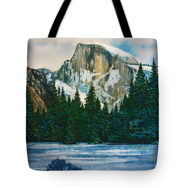 After The Snowfall, Yosemite Tote Bag
