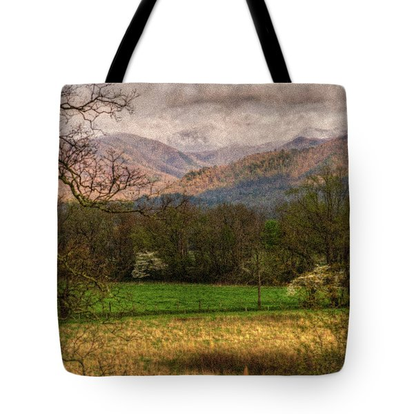 Tote Bag featuring the photograph After The Spring Rain by Rebecca Hiatt