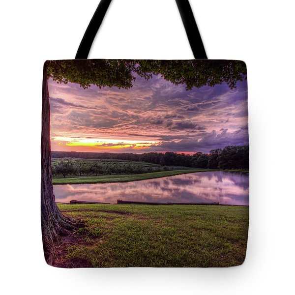 After The Storm At Mapleside Farms Tote Bag