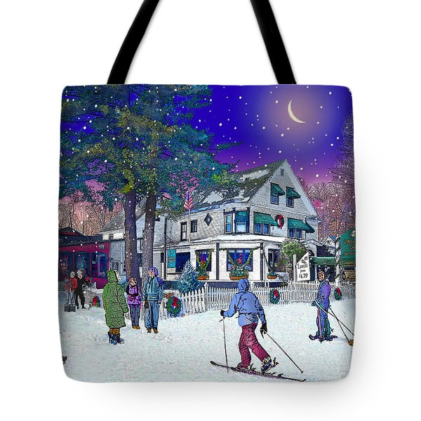 After The Storm At Woodstock Inn Tote Bag