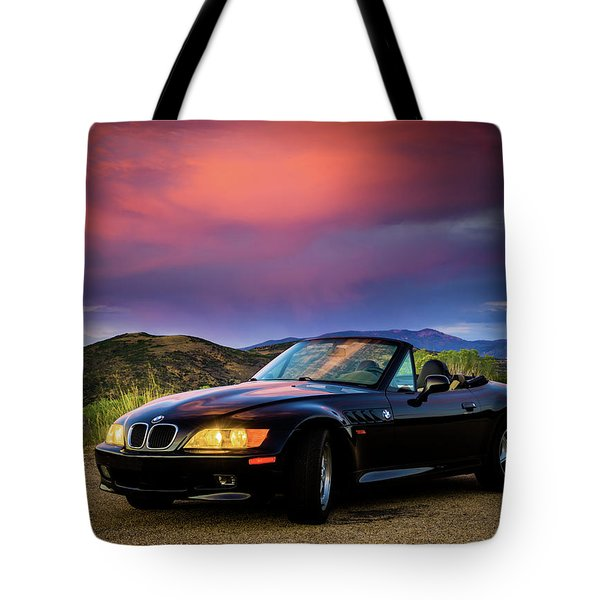 After The Storm - Bmw Z3 Tote Bag