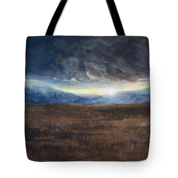 After The Storm - Cool Tone Tote Bag