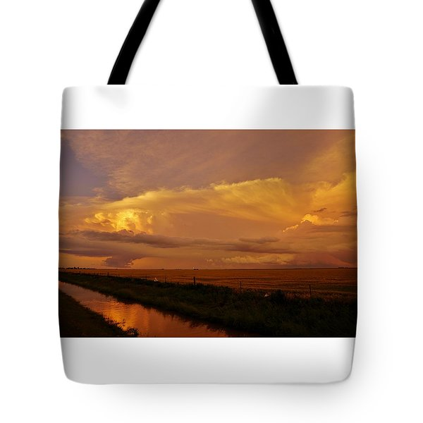 Tote Bag featuring the photograph After The Storm by Ed Sweeney