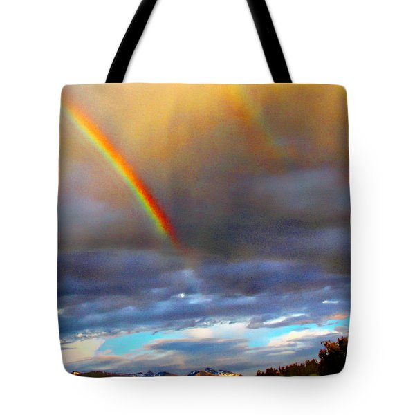 After The Storm El Valle New Mexico Tote Bag