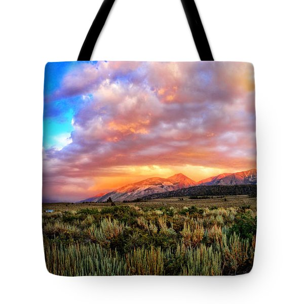 After The Storm Panorama Tote Bag