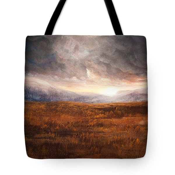 After The Storm - Warm Tones Tote Bag