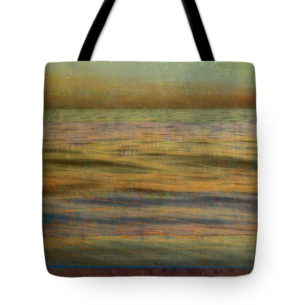 Tote Bag featuring the photograph After The Sunset - Teal Sky by Michelle Calkins
