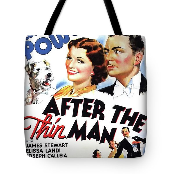 After The Thin Man 1936 Tote Bag