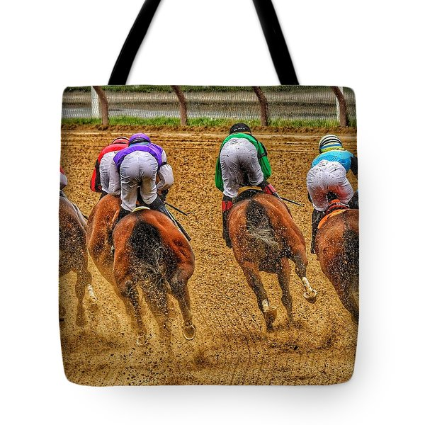 After The Turn Tote Bag