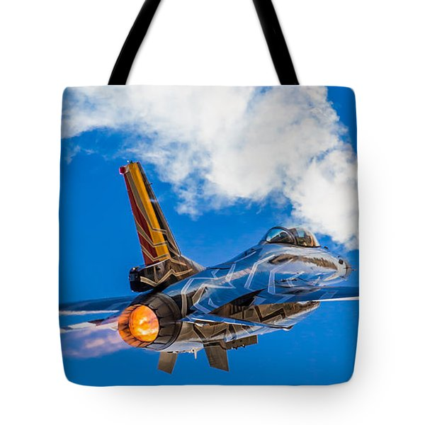 Afterburn Tote Bag by Ian Schofield