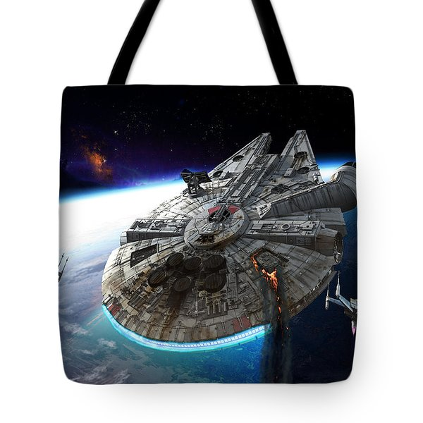 Afterburn Tote Bag