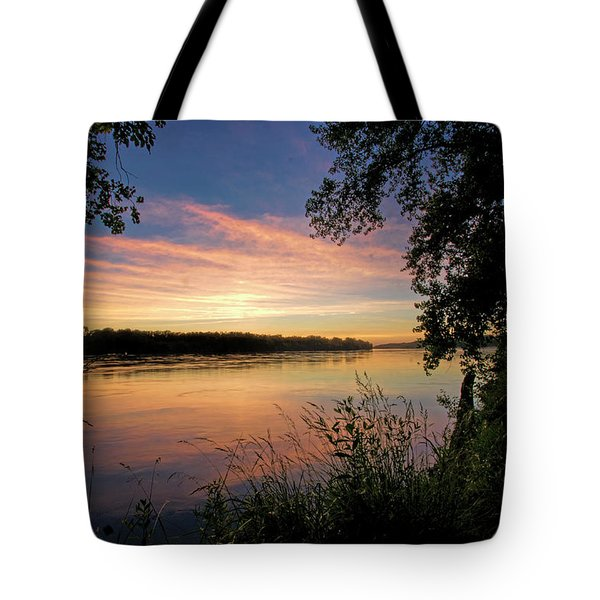 Tote Bag featuring the photograph Afterglow by Cricket Hackmann