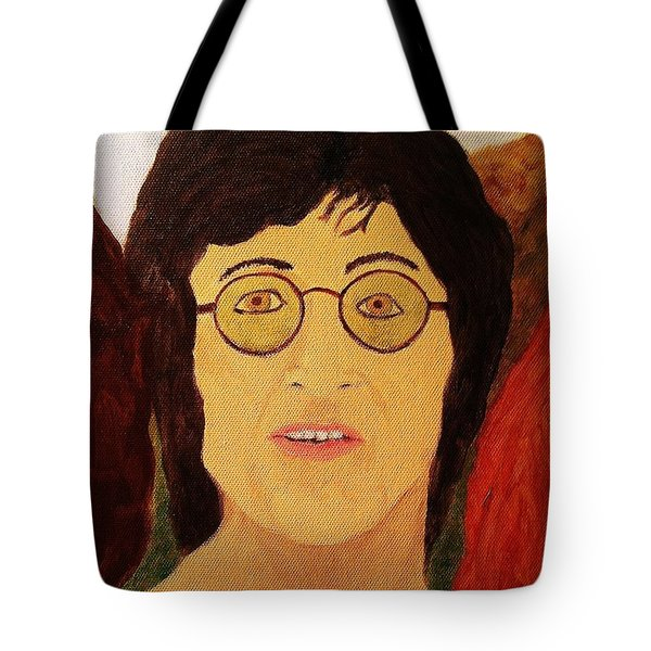 Afterlife Concerto John Lennon Tote Bag by Rand Swift
