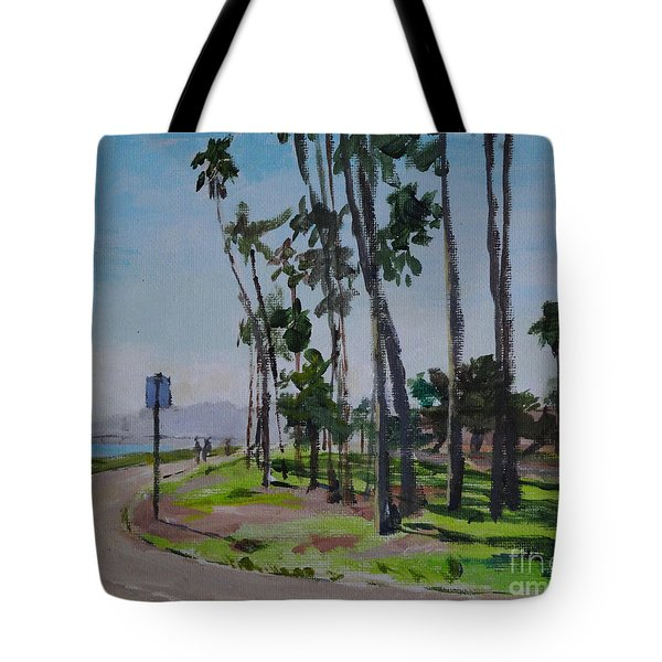 Afternoon At East Beach Tote Bag