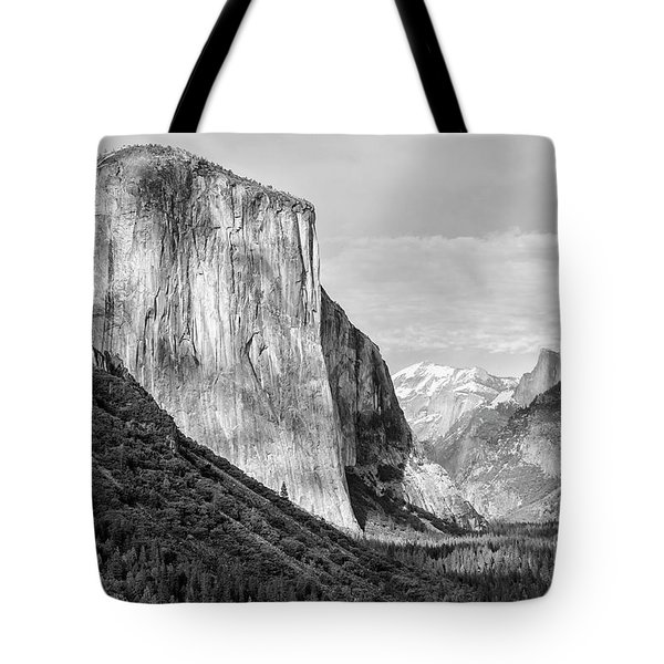 Tote Bag featuring the photograph Afternoon At El Capitan by Sandra Bronstein