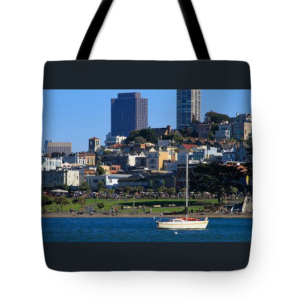 Afternoon At Maritime Park Tote Bag