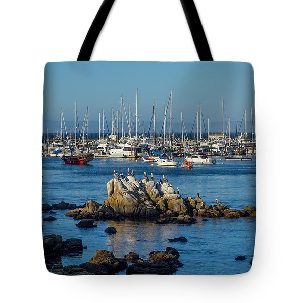 Afternoon At The Breakwater Tote Bag