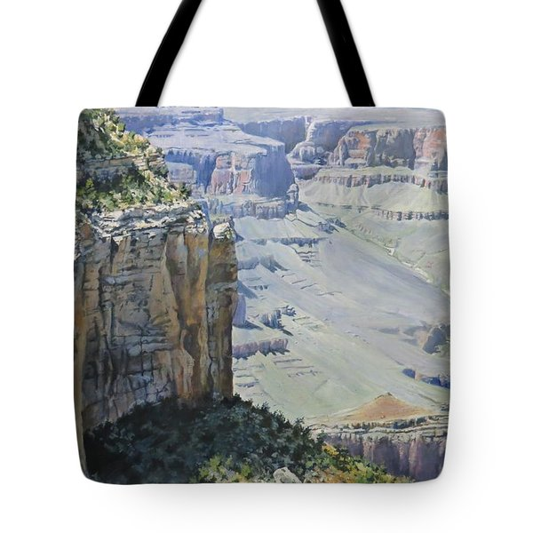 Afternoon At The Canyon Tote Bag