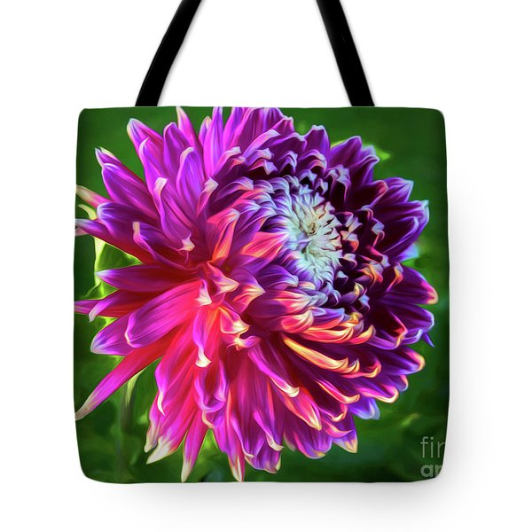 Afternoon Glory Tote Bag by Kim Andelkovic