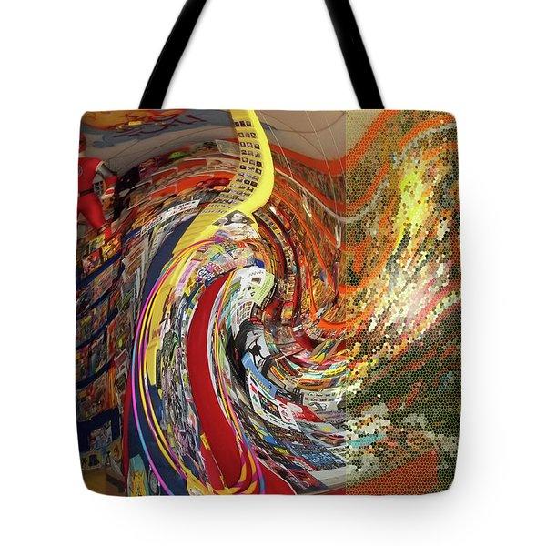 Afternoon Hallucination Tote Bag