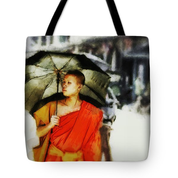 Afternoon In Luang Prabang Tote Bag