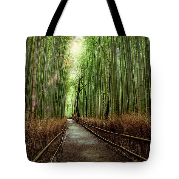 Afternoon In The Bamboo Tote Bag