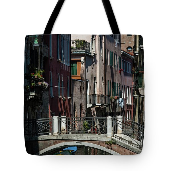 Tote Bag featuring the photograph Afternoon In Venice by Alex Lapidus