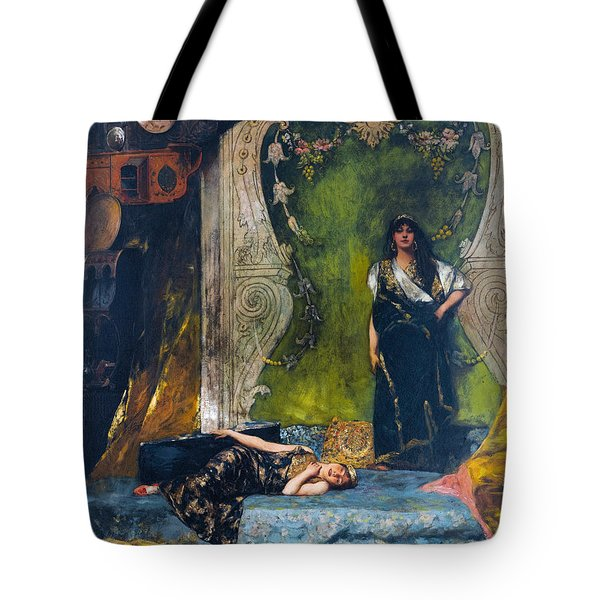 Afternoon Langour Tote Bag
