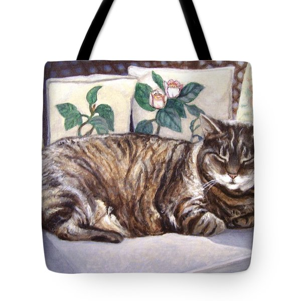 Afternoon Nap Tote Bag
