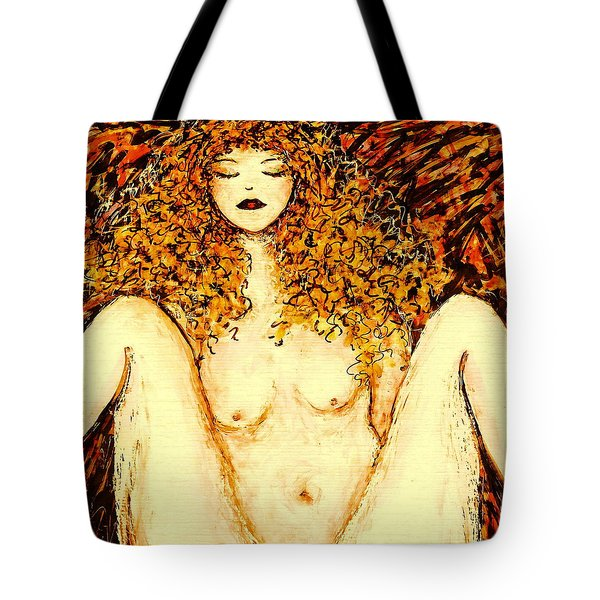Afternoon Nap Tote Bag by Natalie Holland