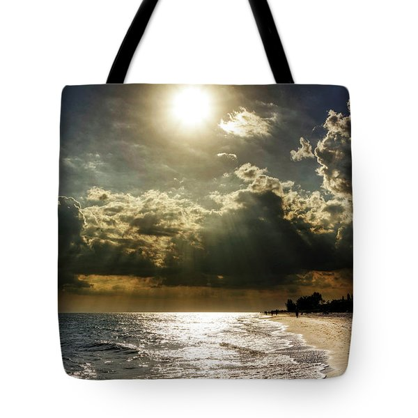 Tote Bag featuring the photograph Afternoon On Sanibel Island by Chrystal Mimbs