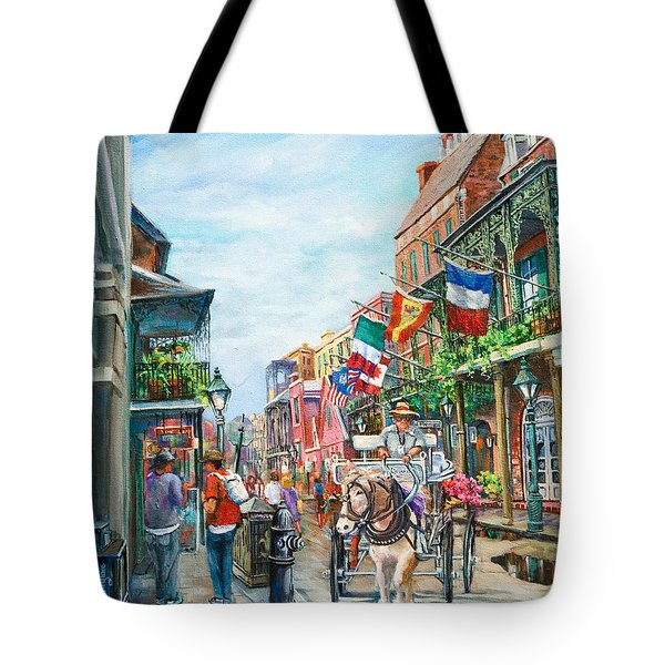 Afternoon On St. Ann Tote Bag