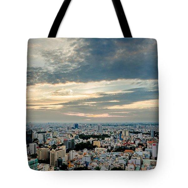 Afternoon Saigon Tote Bag