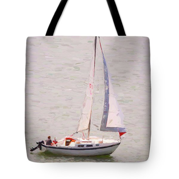 Tote Bag featuring the photograph Afternoon Sail by James BO Insogna