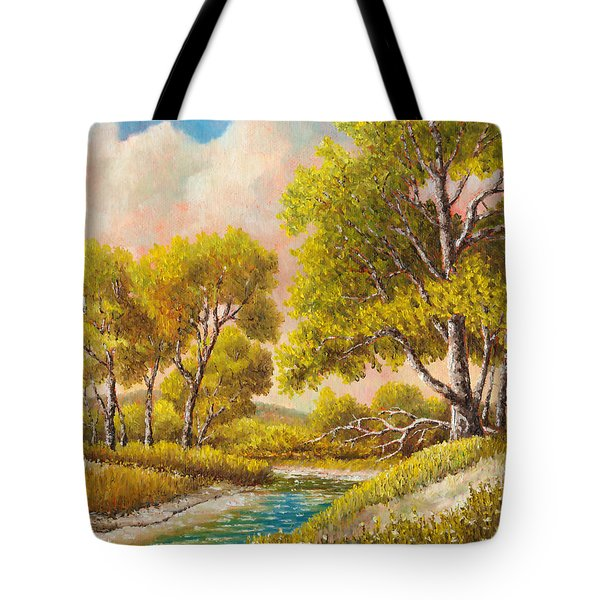 Afternoon Shade Tote Bag