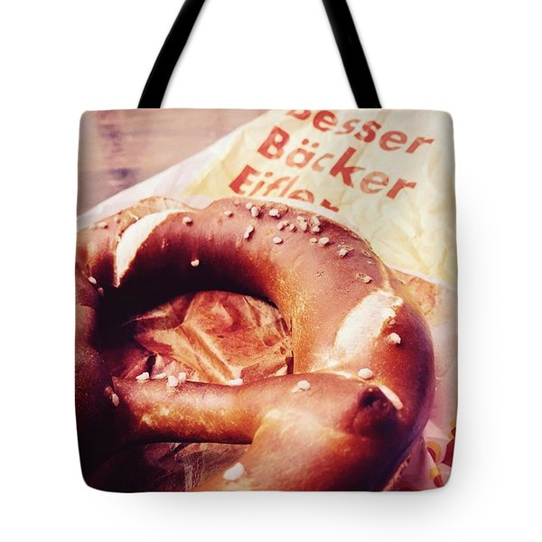 German Pretzel Tote Bag