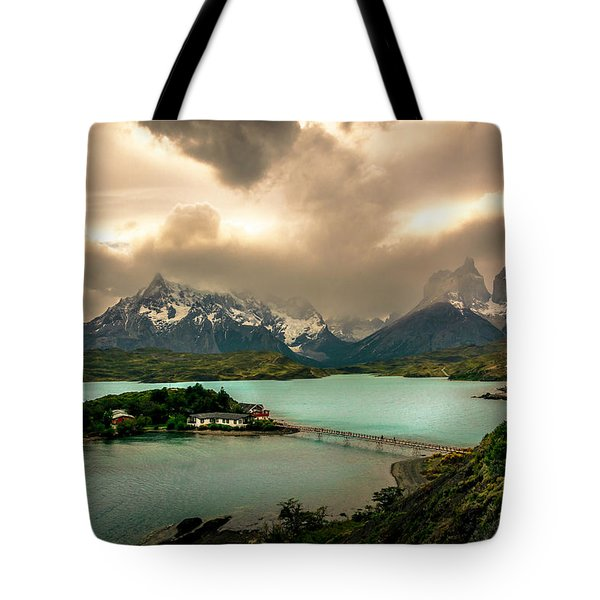 Tote Bag featuring the photograph Afternoon Storm by Andrew Matwijec