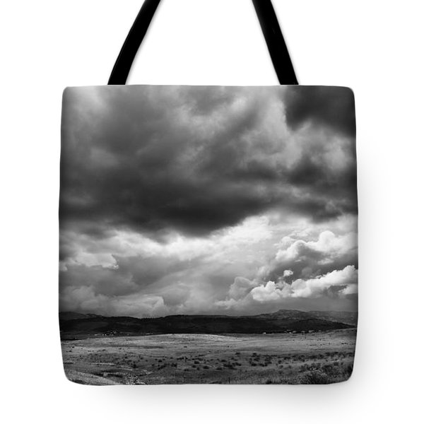 Tote Bag featuring the photograph Afternoon Storm Couds by Monte Stevens