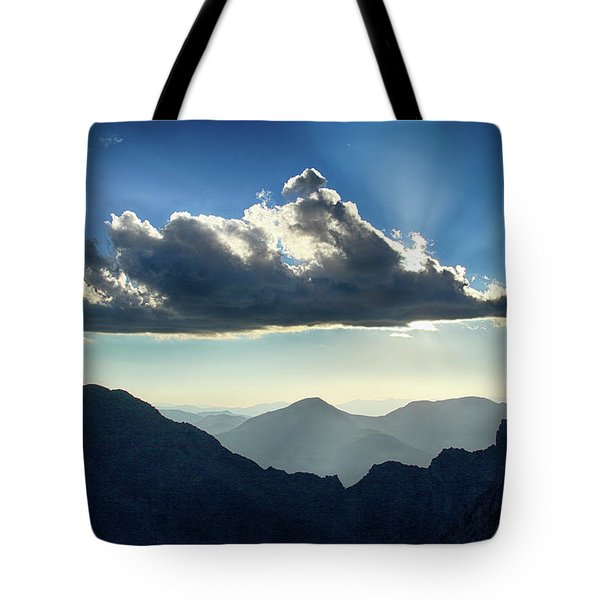 Afternoon Sunburst Tote Bag