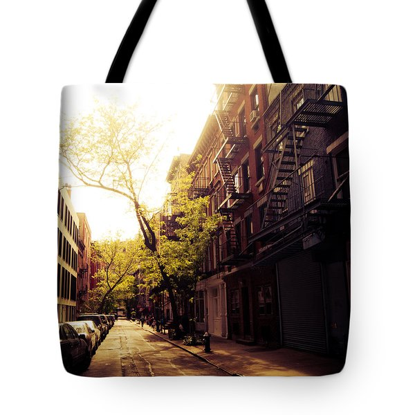 Afternoon Sunlight On A New York City Street Tote Bag by Vivienne Gucwa