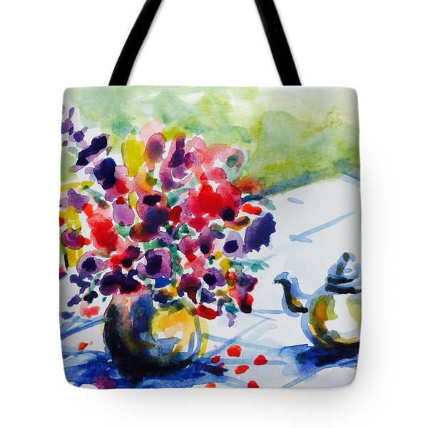 Afternoon Table Tote Bag