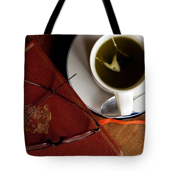 Tote Bag featuring the photograph Afternoon Tea by Erin Kohlenberg