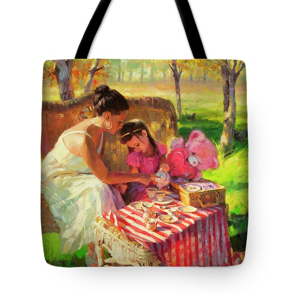 Afternoon Tea Party Tote Bag
