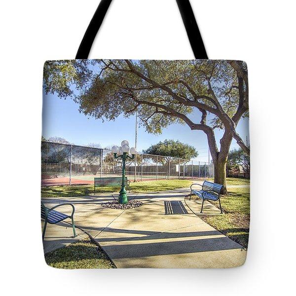 Afternoon Tennis Tote Bag